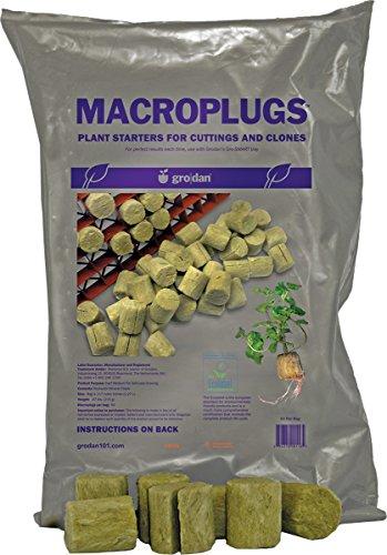 Grodan Rockwool Plant Plugs Macro 50 Pack For Sale