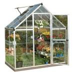 Palram-Nature-Series-Harmony-Hobby-Greenhouse-6-x-4-x-7-Silver-0-8